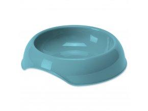 DOG FANTASY Miska pre psov plastová modrá 700 ml