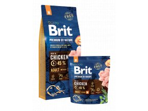 brit premium nature adult m