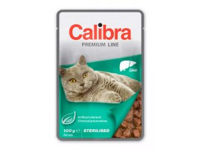 calibra cat sterilised liver