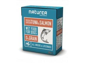 Naturea Kura s tuniakom a lososom