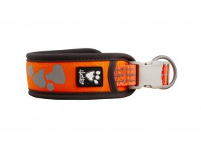 hurtta weekend warrior collar neon orange 4