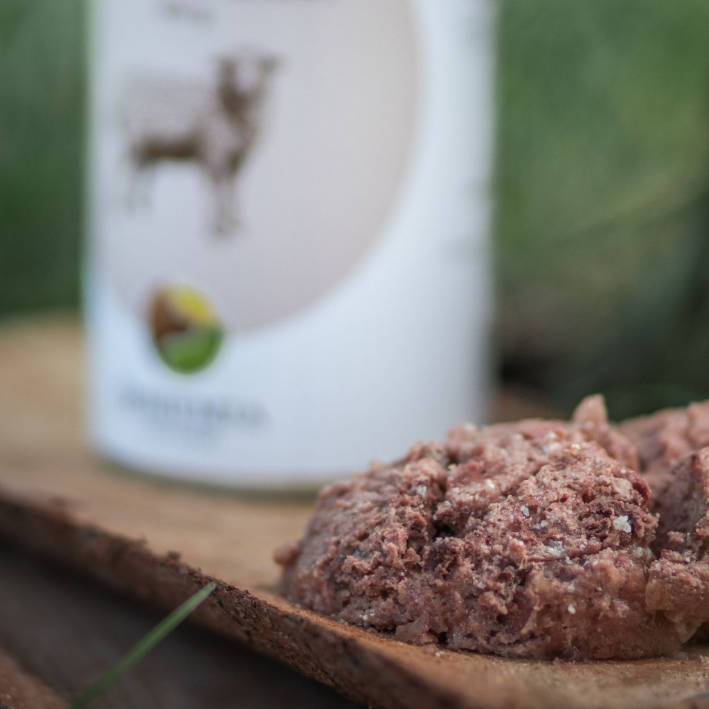 Konzervy pro psy jehneci maso (2)