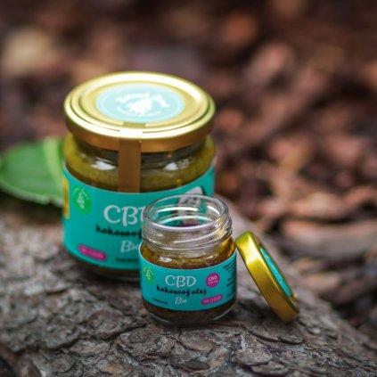 Kokosovy olej s CBD Chlupaci (5)