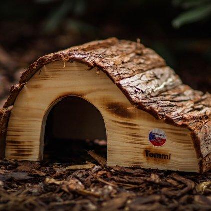 Dreveny domek pro morce (8)