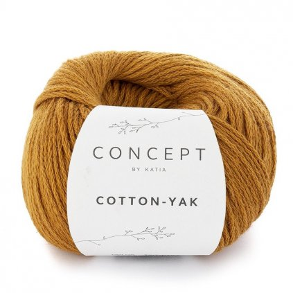 www.chlupatalama.cz-yarn wool cottonyak knit cotton wool yak ochre all katia 106 fhd