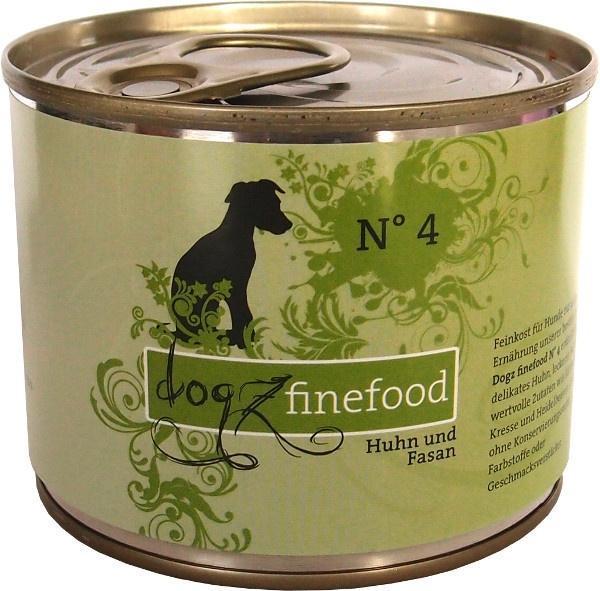 Dogz finefood konzervy pro psy