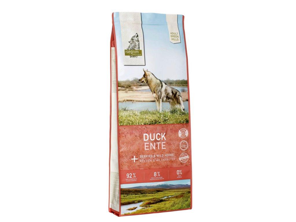 Krmivo Isegrim Green Hills Adult Duck   chlupik.cz
