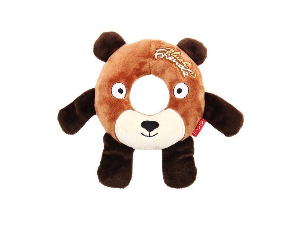 9119 1 gigwi plush friendz krouzek medved