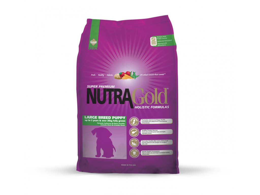 krmivo Nutragold 3kg puppy large breed