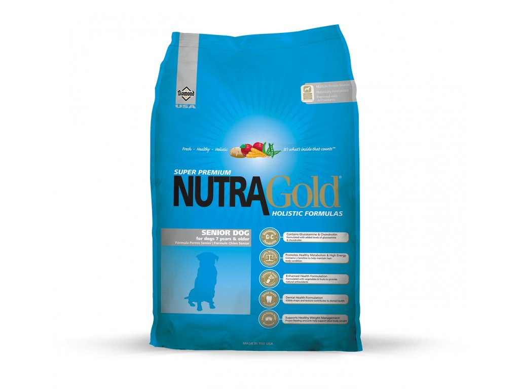 Nutragold dog senior