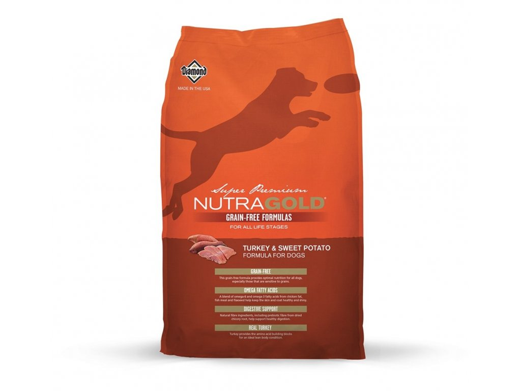 Nutragold dog grainfree turkey