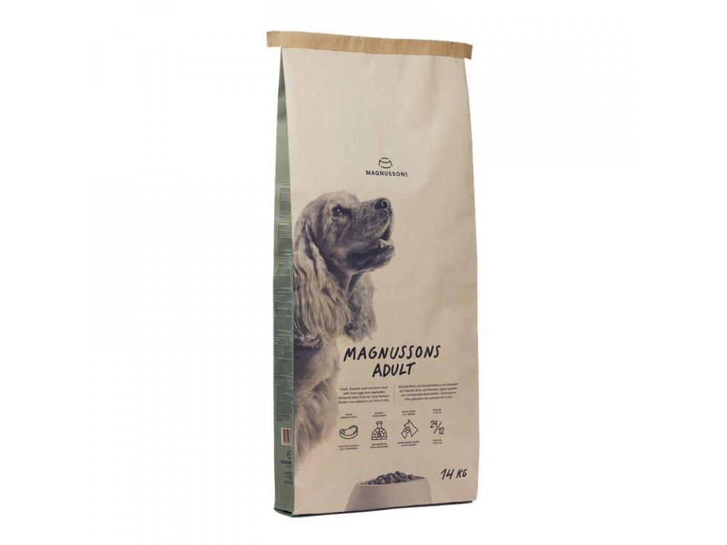 krmivo Magnusson Adult Meat & Biscuit | chlupik.cz