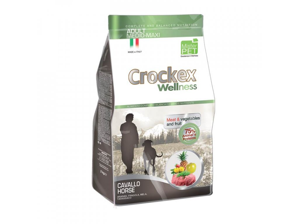 granule Crockex Adult Horse &Rice| chlupik.cz