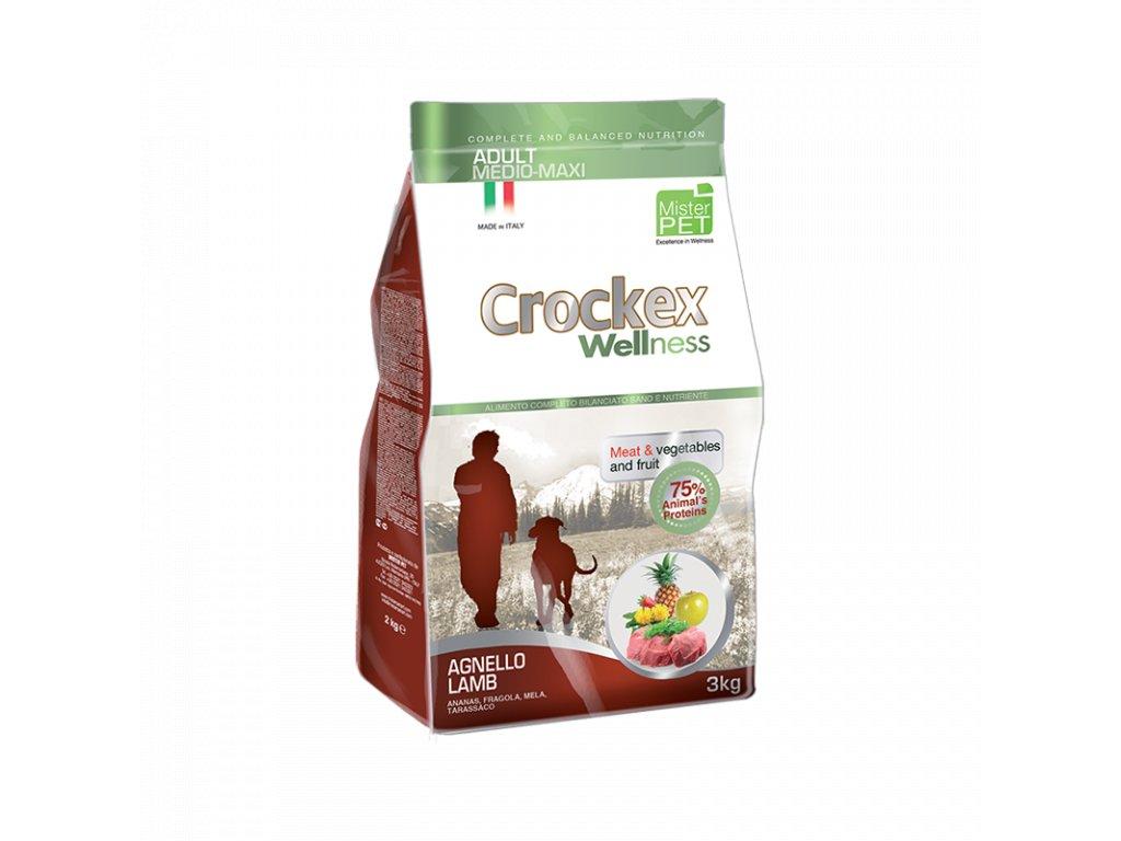 Granule Crockex Adult jehněčí maso | chlupik.cz