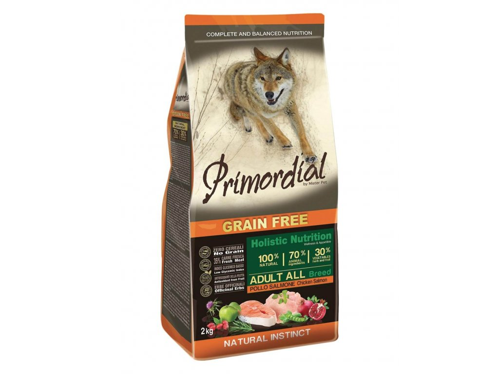 Primordial Adult Chicken & Salmon 12 kg