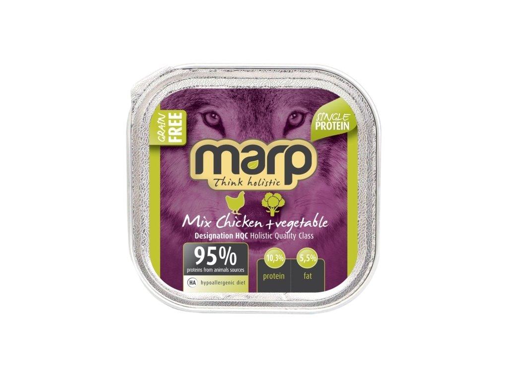 Marp Mix vanička pro psy kuře+zelenina