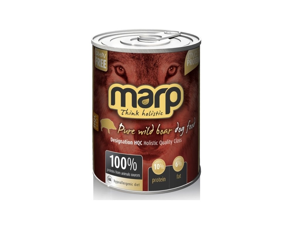 Marp Holistic Dog konzerva Pure Wild Boar 400 g