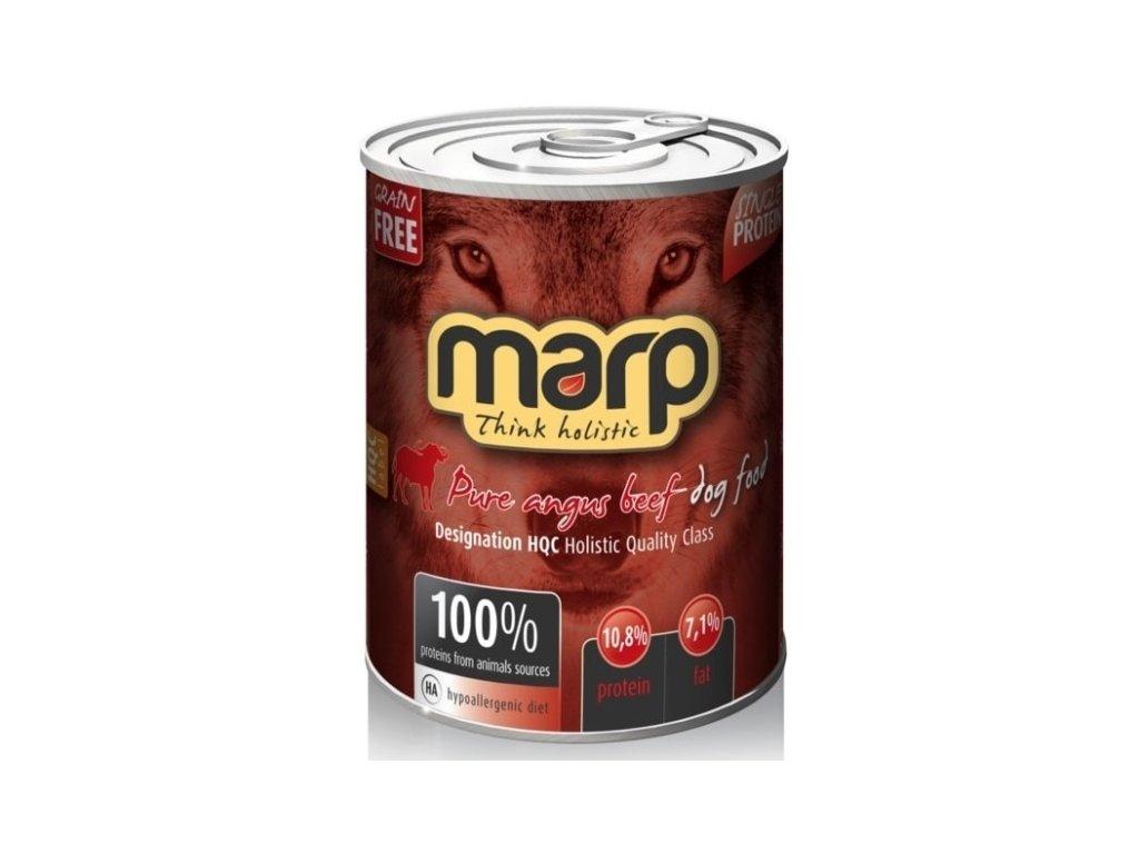 Marp Holistic Dog konzerva Pure Angus Beef 400 g