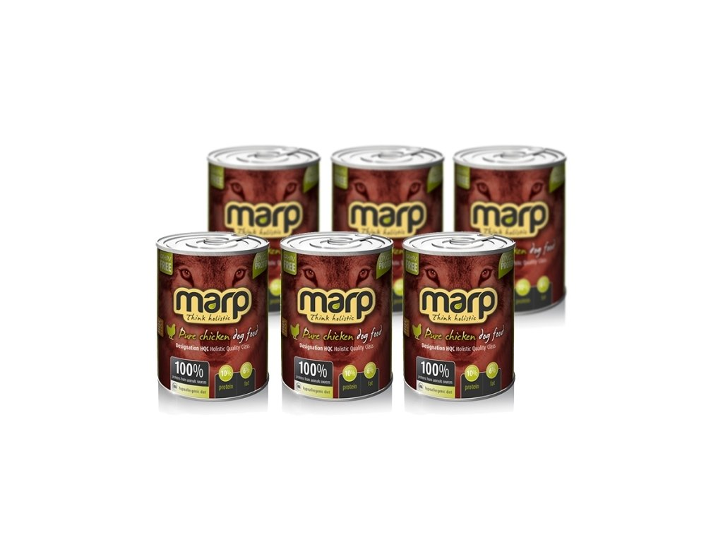 Marp Holistic Dog konzerva Pure Chicken 6x 800 g