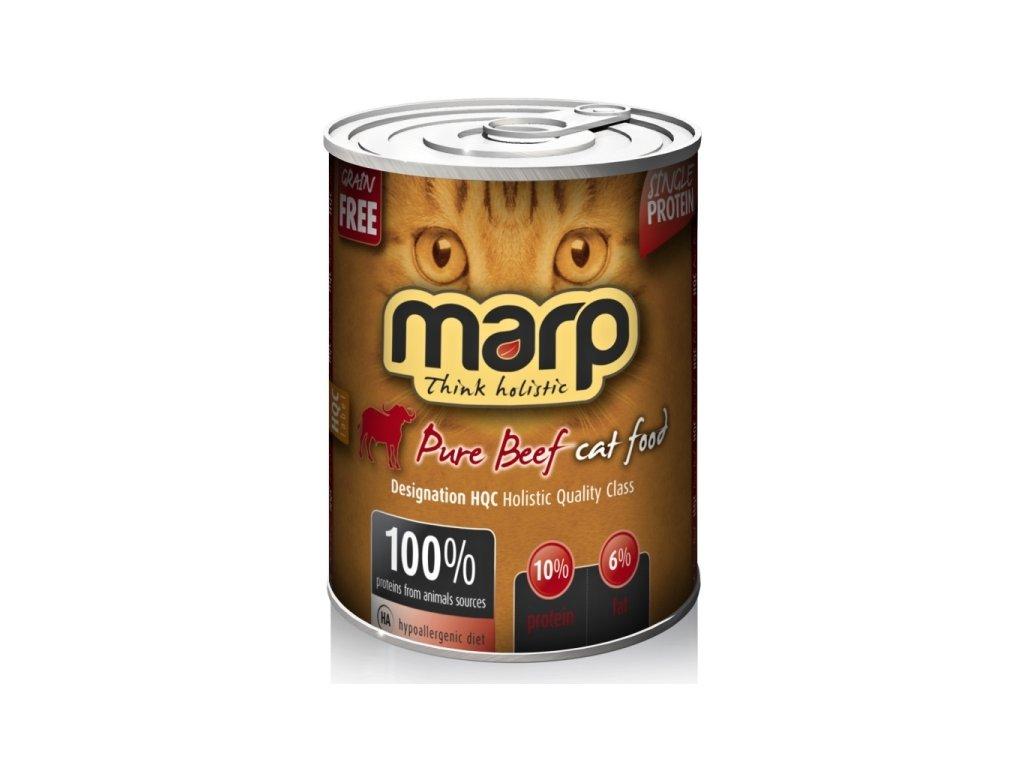 Marp Beef konzerva pro kočky s hovězím 400 g