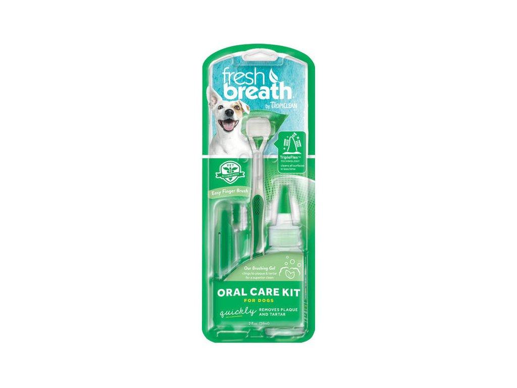 oral kit pro psy kartacek na zuby