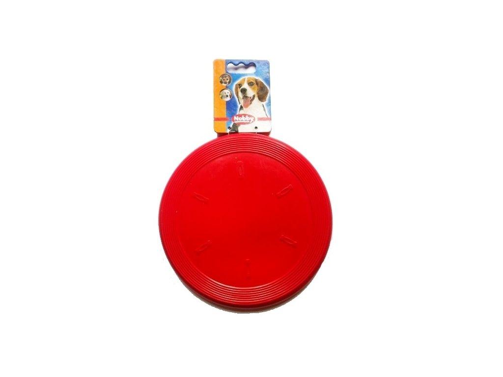 Nobby Frisbee létající talíř gumový 19cm