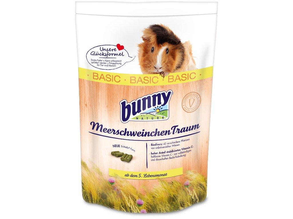 Bunny Nature krmivo pro morčata - basic