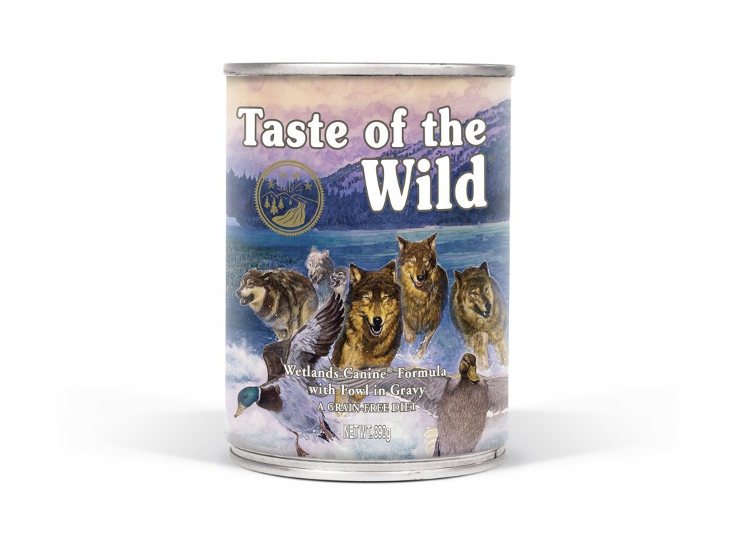 konzerva pro psy Taste of The Wilde Wetlands Wild Canine 390g