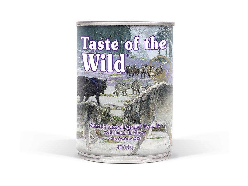Konzerva pro psy Taste of The Wilde Sierra Mountain Canine 390g