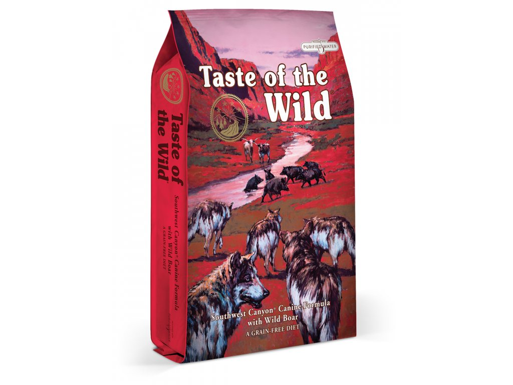 krmivo Taste of The Wild Southwest Canyon Canine