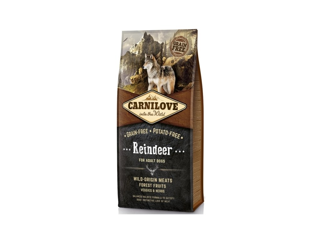 Granule Carnilove Adult Reindeer| chlupik.cz