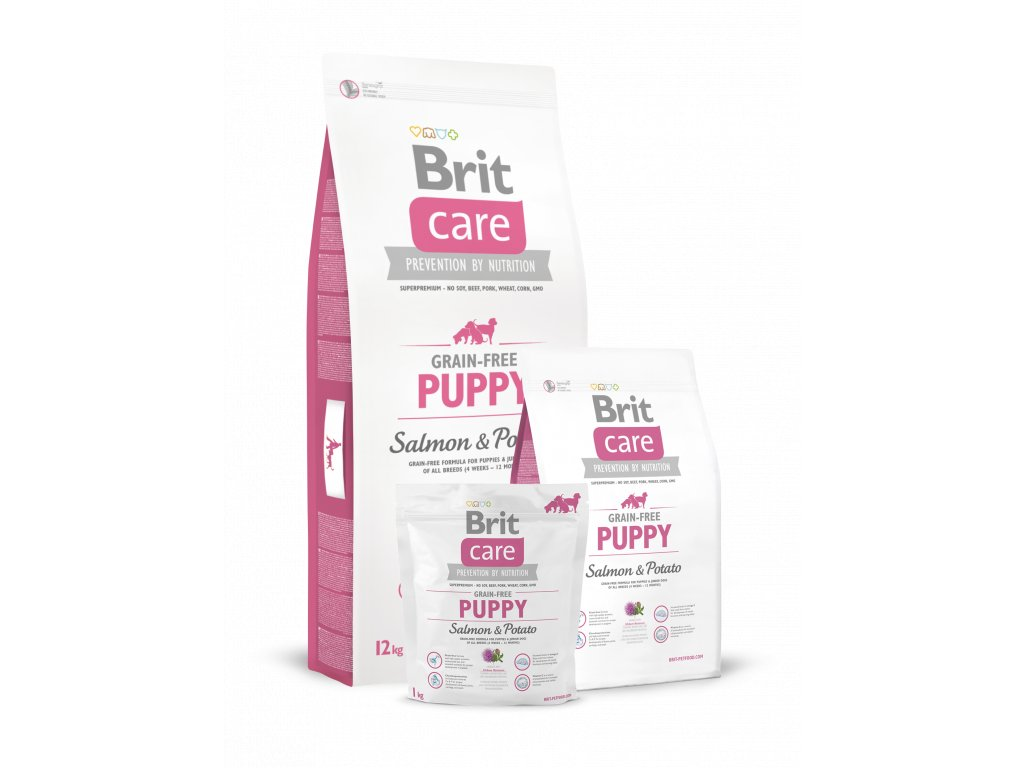 krmivo granule Brit Care Puppy Salmon & Potato
