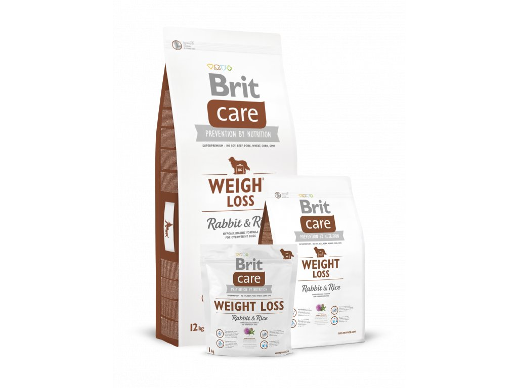 Krmivo Brit Care Weight Loss Rabbit & Rice