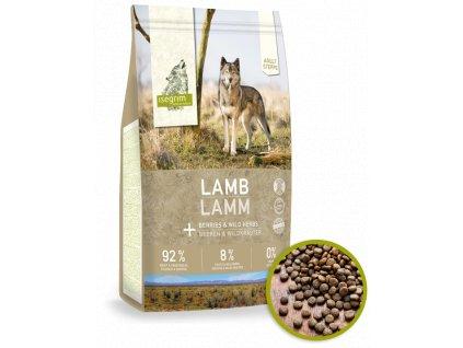 isegrim dry food adult steppe lamb