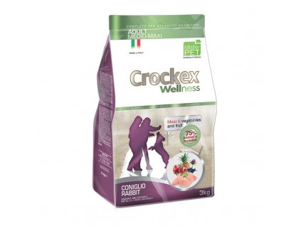 Granule Crockex Adult Rabbit & Rice | chlupik.cz