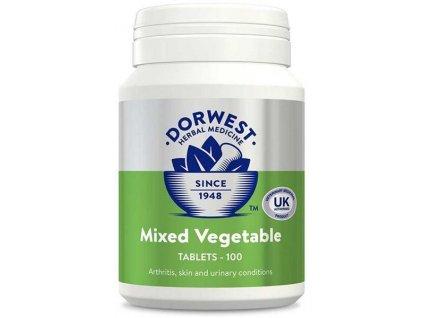 DORWEST Zeleninové tablety 100 tablet