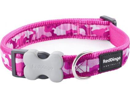 94380 1 obojek rd 12 mm x 20 32 cm camouflage hot pink