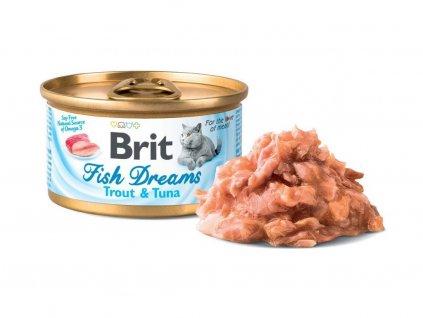 brit cat trout tuna