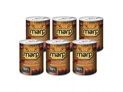 Produkt Marp Beef konzerva pro kočky s hovězím
