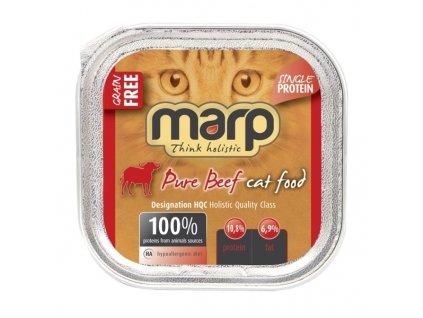 Marp Beef vanička pro kočky s hovězím 100g