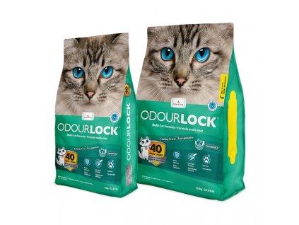 Intersand kočkolit Odour Lock - svěží vůně 12 kg (2x6kg)