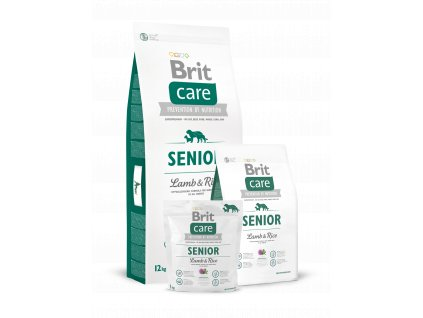 Krmivo Brit Care Senior Lamb & Rice
