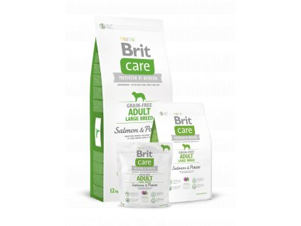 Krmivo granule Brit Care Salmon & Potato Adult Large breed