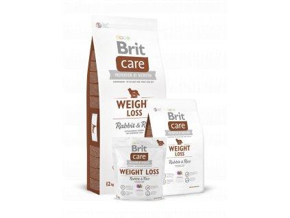 Krmivo Brit Care Weight Loss Rabbit & Rice