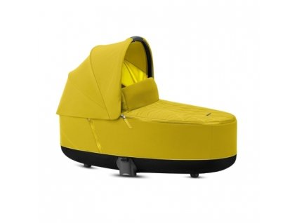 Cybex Priam Lux Carry Cot Mustard Yellow 2021