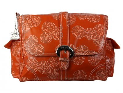Přebalovací taška Buckle Bag Stitches Orange