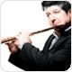 Poloprofesionální flétny