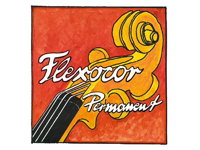PIRASTRO FLEXOCOR PERMANENT D-Tit