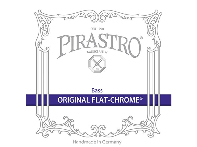 Pirastro ORIGINAL FLAT-CHROME set (solo) 347000