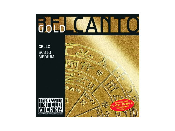 THOMASTIK BELCANTO GOLD D BC27G